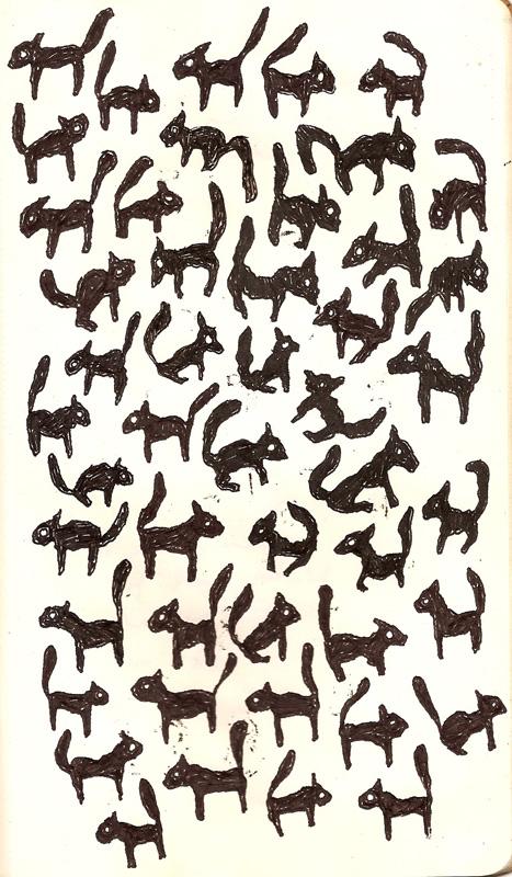 mammals drawing